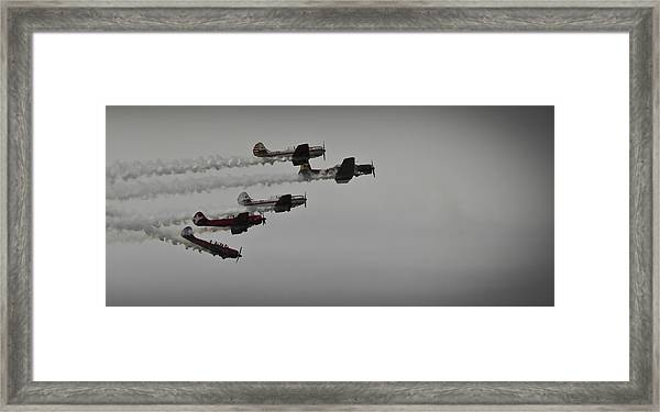 Norteast Raiders At The Greenwood Lake Airshow 2012 Framed Print