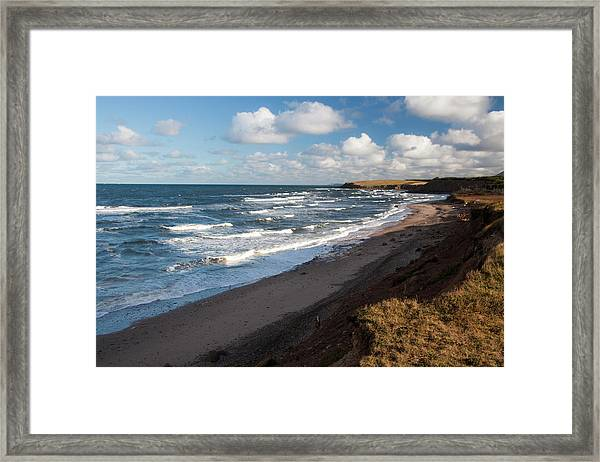 North America, Canada, Nova Scotia Framed Print by Patrick J. Wall