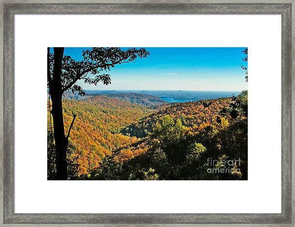 North Carolina Fall Foliage Framed Print