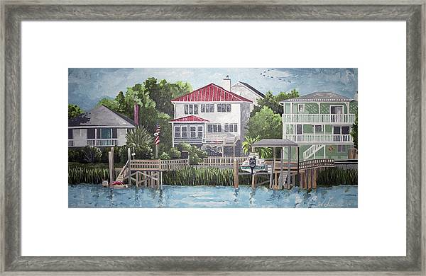 North Channel Framed Print