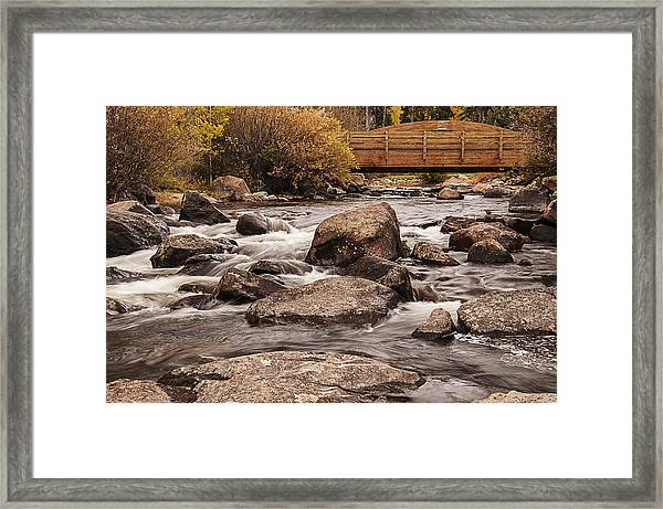 North Inlet And Grand Avenue Bridge Framed Print