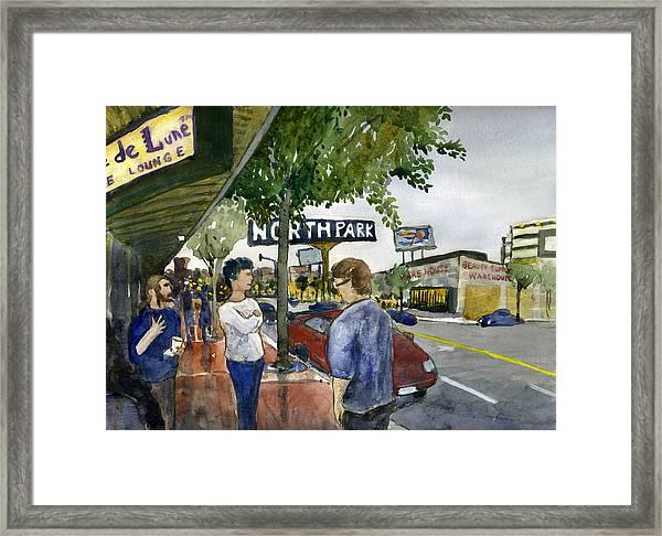 North Park Framed Print