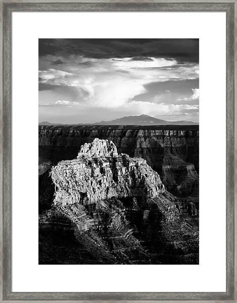 North Rim Framed Print