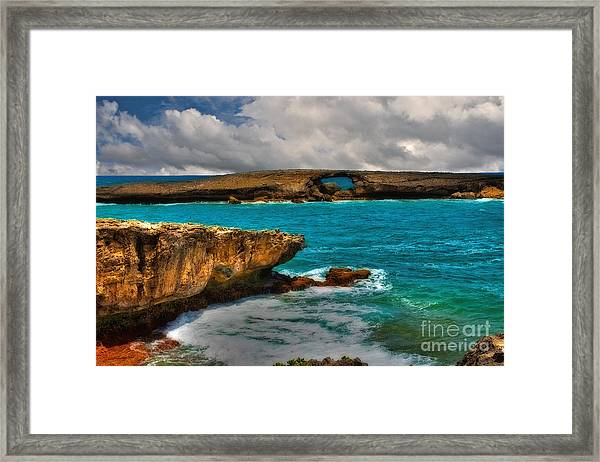 North Shore Waikiki Hawaii Framed Print