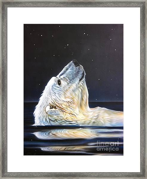 North Star Framed Print