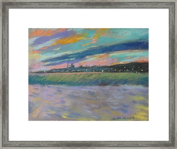 North Truro Sunset Framed Print