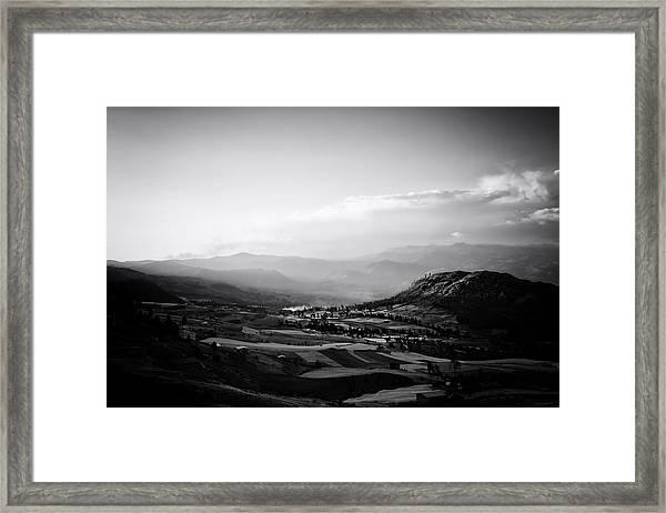 Northern Highlands Evening Framed Print