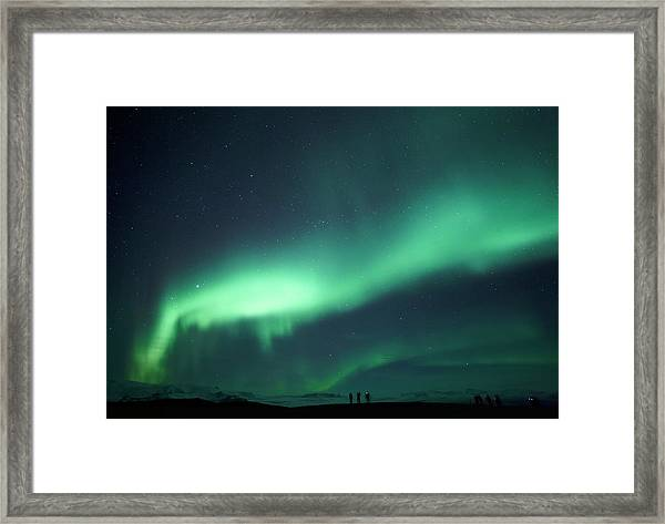 Northern Lights Chasers Framed Print