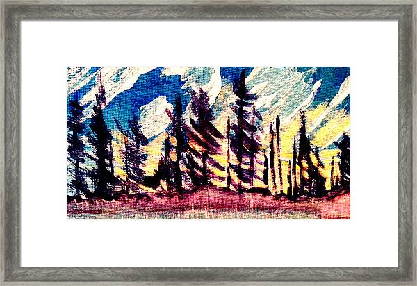 Northern Peace 2 Framed Print