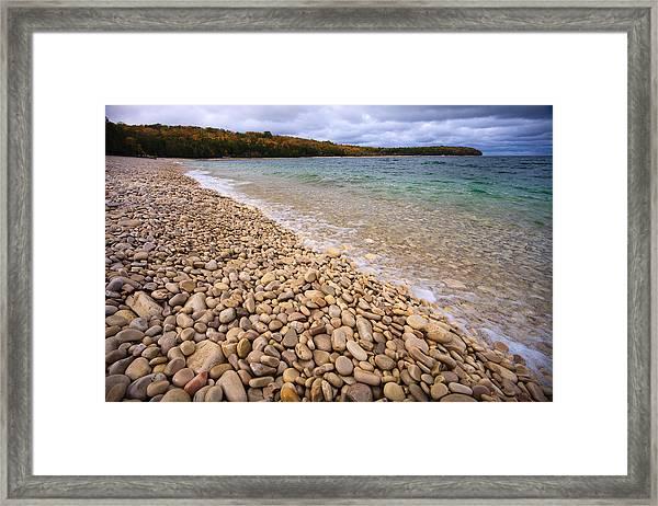 Northern Shores Framed Print