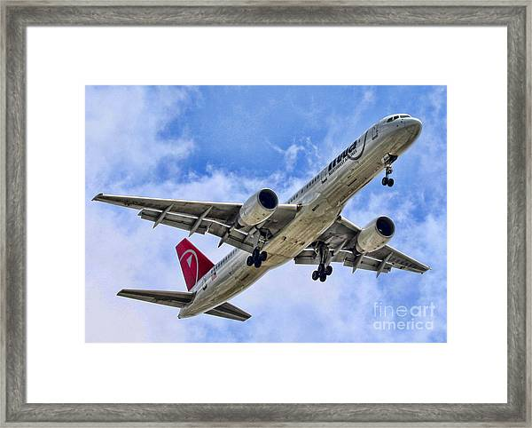 Northwest Coming In By Diana Sainz Framed Print