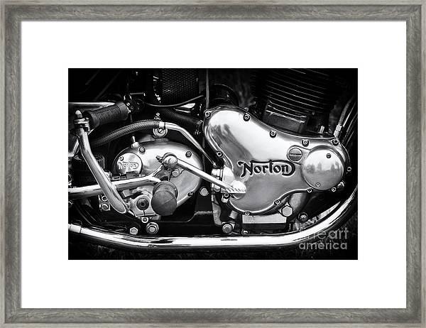 Norton Commando 850 Engine Framed Print