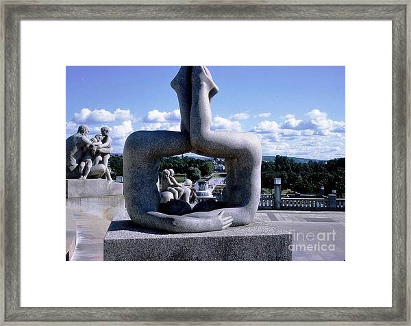 Norway Frogner Park Framed Print