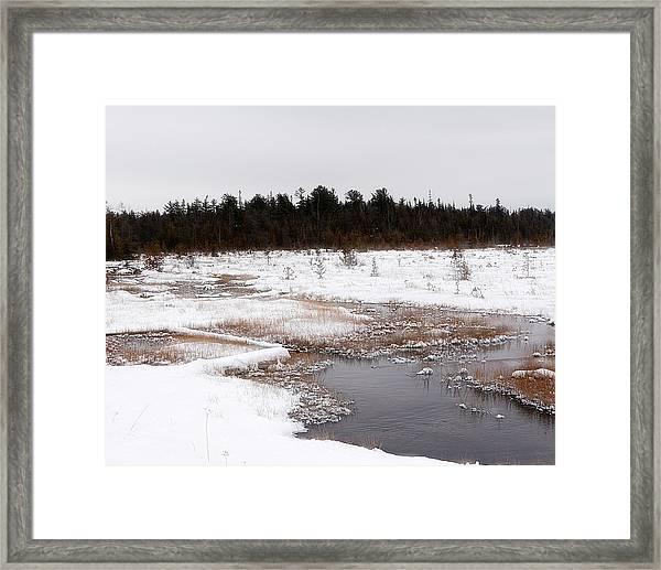 Norwegian Creek Framed Print