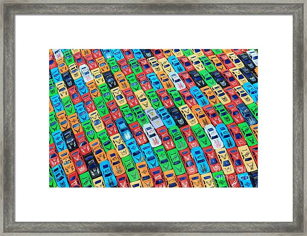 Nose To Tail Framed Print
