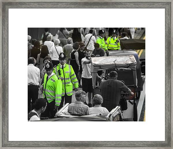 Not Really Undercover Framed Print