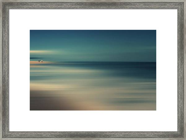 Not The End Of The World Framed Print