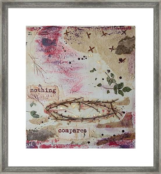 Nothing Compares Framed Print