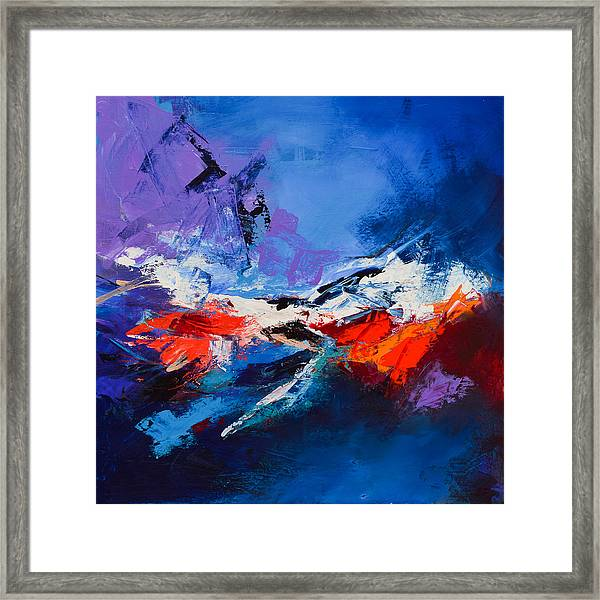 Framed Print featuring the painting Nothing Else Matters by Elise Palmigiani