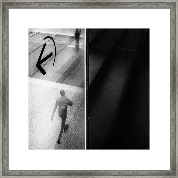 Nothing Has To Happen Framed Print by Laura Mexia