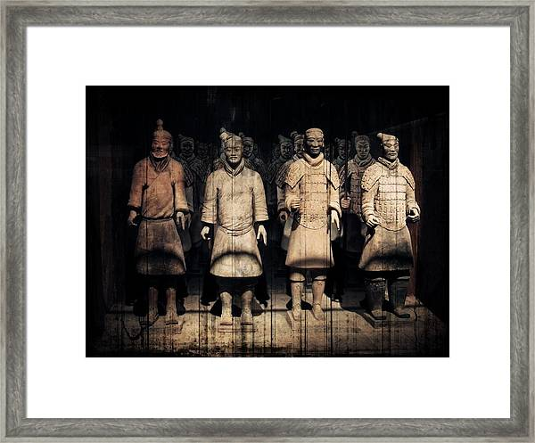 Nothing To Kill Or Die For Framed Print