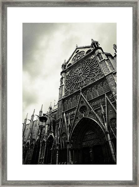 Notre Dame De Paris Framed Print by Cambion Art