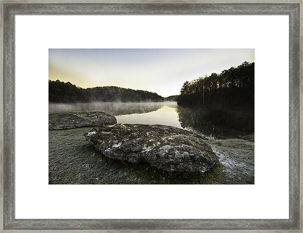 November Dawn Framed Print