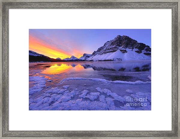 November Freeze Framed Print