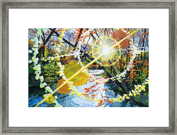 The Glorious River Framed Print
