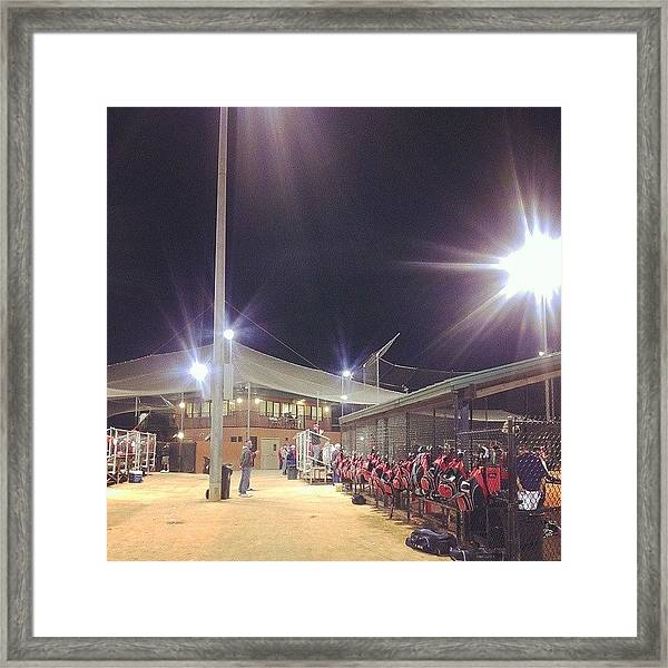 #ntc #softball #shippensburg #clermont Framed Print