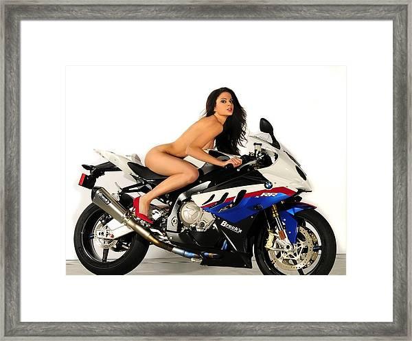 Nude Attack Framed Print