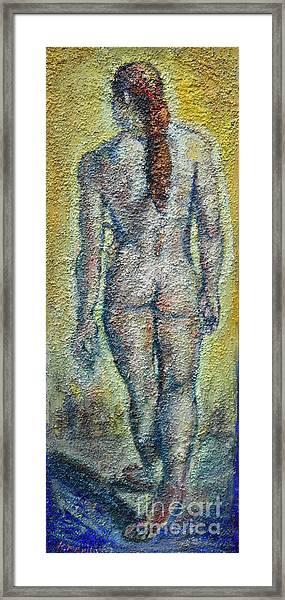 Nude Brunet Framed Print