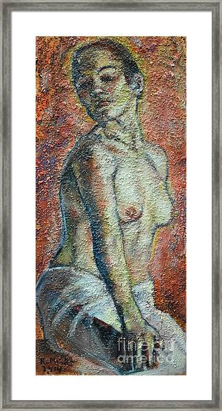 Nude Lisbeth Framed Print