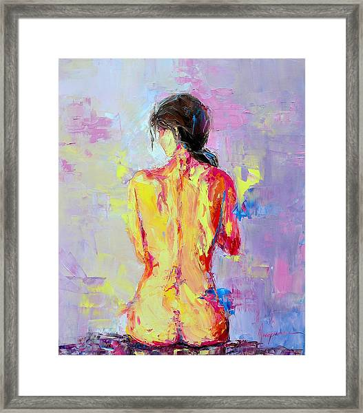 Nude Woman Figure No. 2 Framed Print
