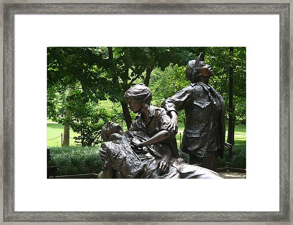 Nurses Memorial Framed Print
