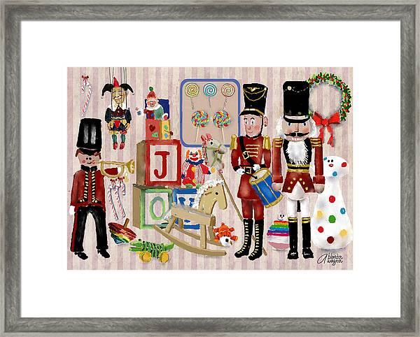 Nutcracker And Friends Framed Print