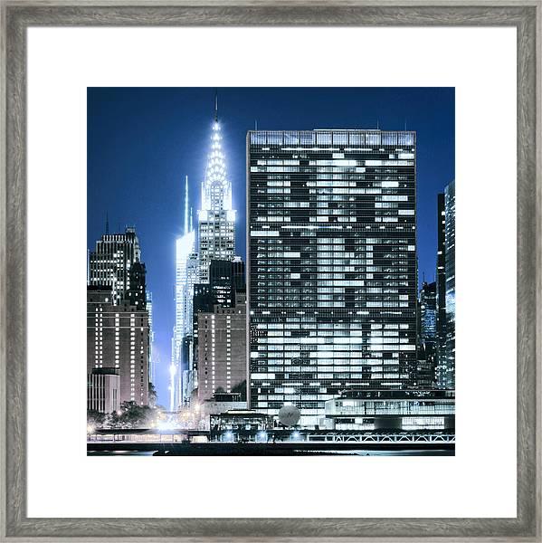 Ny Sights Framed Print