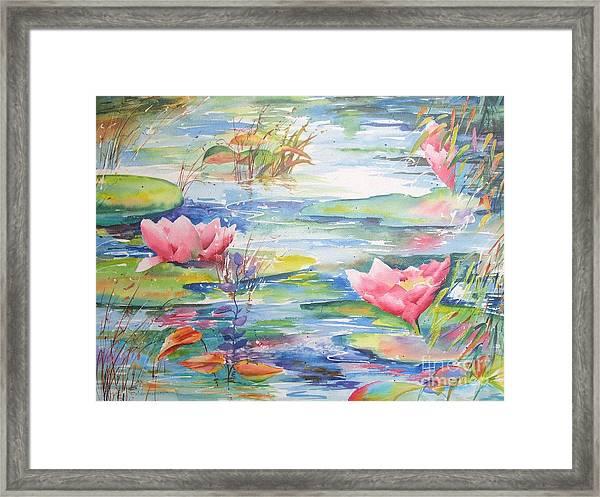 Nymphea Framed Print