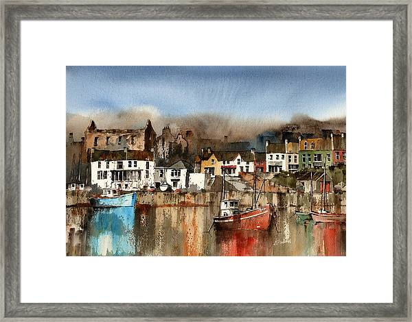 O Driscolls Castle Baltimore Cork Framed Print
