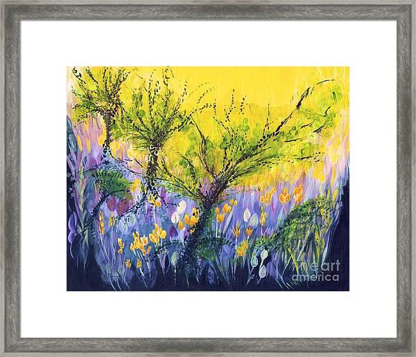 O Trees Framed Print