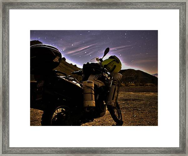 Oak Canyon 3 Am Framed Print