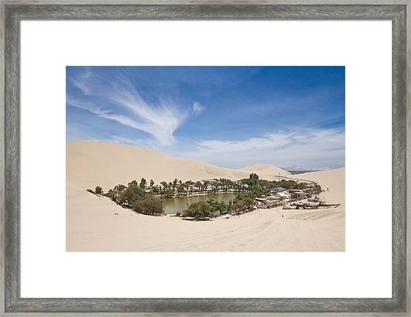 Oasis Framed Print by Joshua Alan Davis