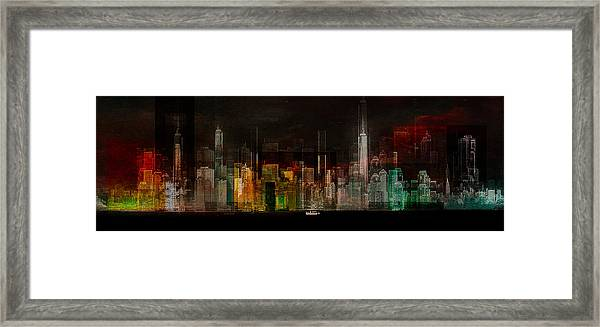 Oasis -  Ready Player One Framed Print