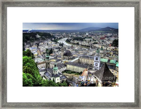 Ober Innsbruck Framed Print