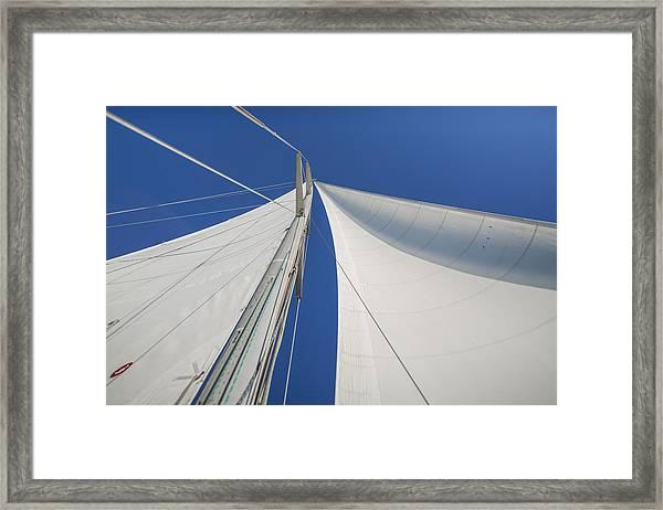 Obsession Sails 1 Framed Print