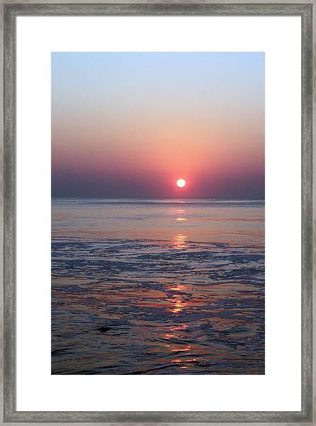 Oc Sunrise1 Framed Print