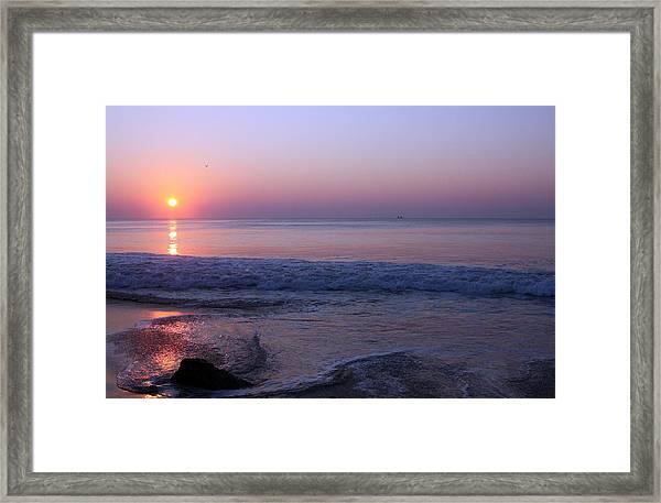 Oc Sunrise2 Framed Print