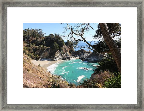 Ocean Bliss Framed Print