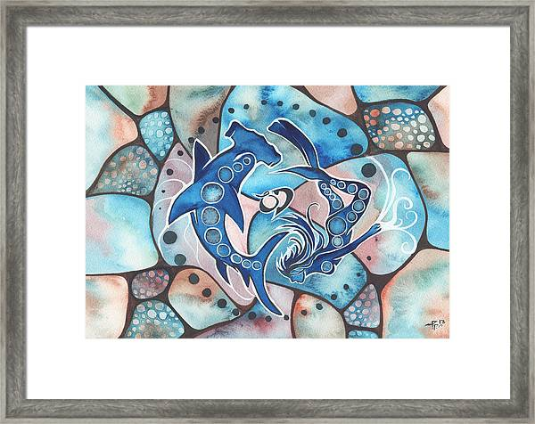 Ocean Defender Framed Print