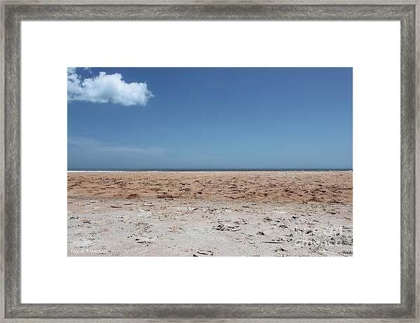 Ocean Horizon Framed Print